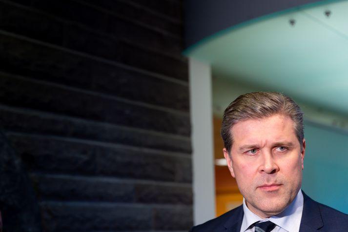 Bjarni Benediktsson, fjármálaráðherra, mælti fyrir fjárlagafrumvarpinu fyrir árið 2020 á Alþingi í dag. Stjórnarandstaðan segir það einkennast af draumsýn og óskhyggju.
