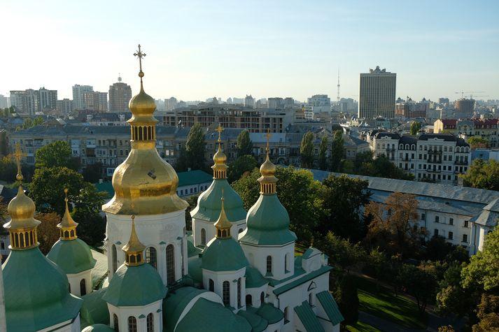 Frá Kiev, þar sem árásin var framin.