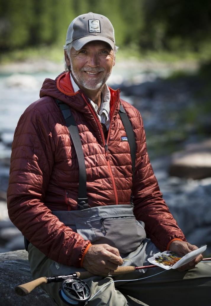 Henrik Mortensen er einn fremsti flugukastari heims.