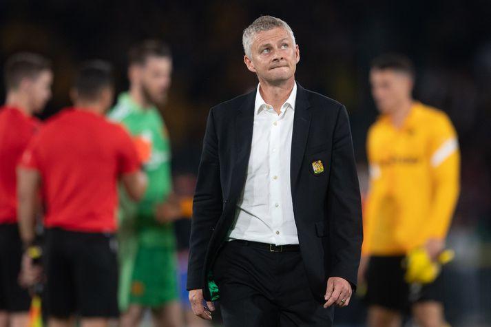 Manchester United hefur ekki gengið vel í Meistaradeild Evrópu undir stjórn Ole Gunnars Solskjær.