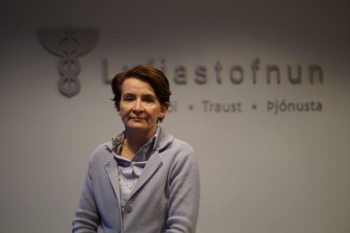 Rúna Hauksdóttir Hvanndal, forstjóri Lyfjastofnunar.
