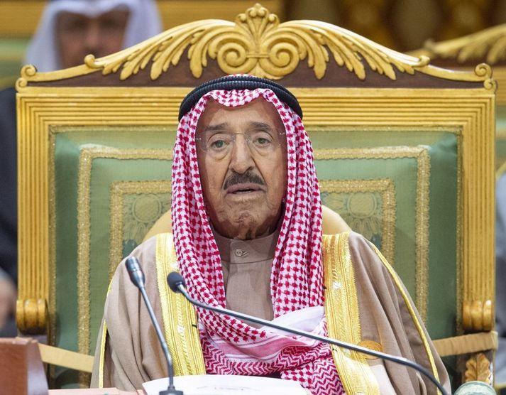 Sheikh Sabah al-Ahmad al-Sabah hafði stýrt Kúveit frá árinu 2006.