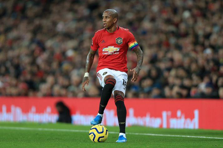 Eftir níu ár hjá Manchester United er Ashley Young á förum til Inter.