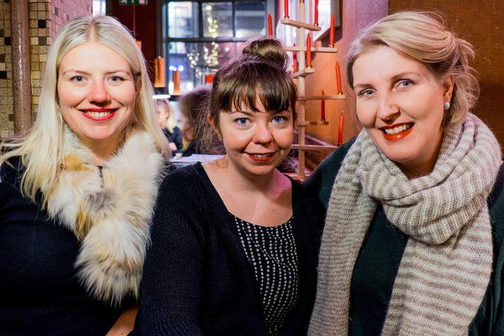 Catherine Maria Stankiewicz, Sólborg Valdimarsdóttir og Guja Sandholt munu skapa draumkennda kyrrðarstemningu.