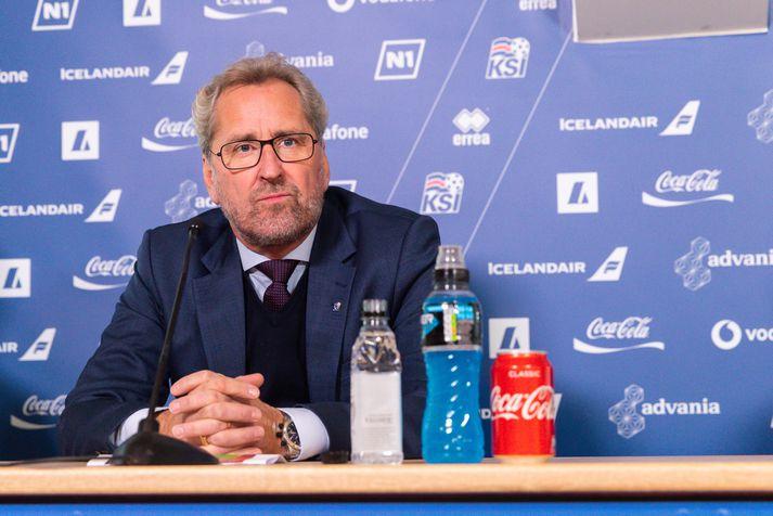 Erik Hamrén þarf nú að huga að undirbúningi fyrir leikinn geng Andorra á mánudag.