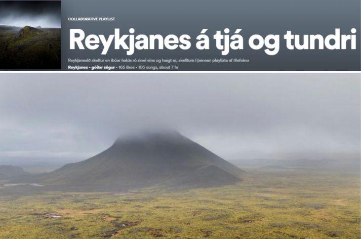 Mörg þúsund jarðskjálftar hafa verið á Reykjanesinu síðustu daga.