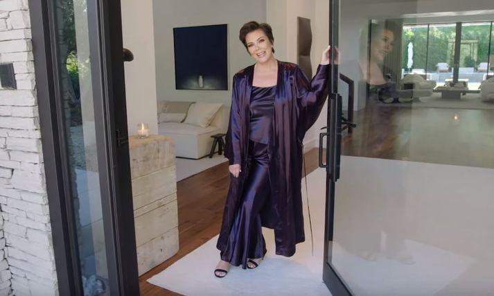 Jenner þykir mjög skemmtileg í þáttunum Keeping Up With The Kardashians.