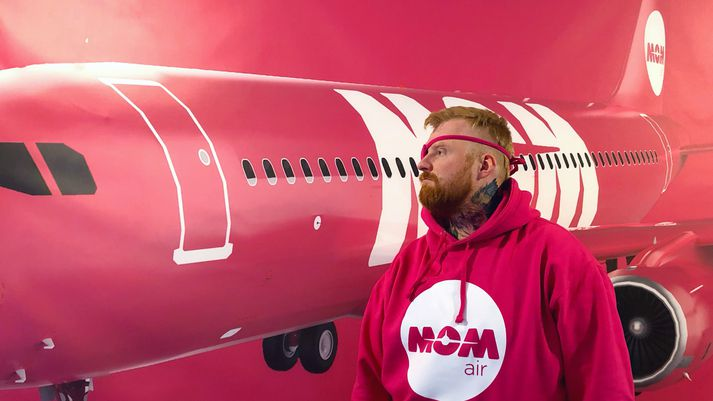 Oddur Eysteinn Friðriksson, stofnandi eða heldur skapari MOM Air.