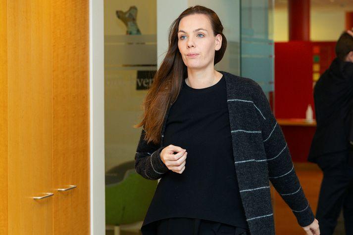 Sonja Ýr Þorbergsdóttir er formaður BSRB.