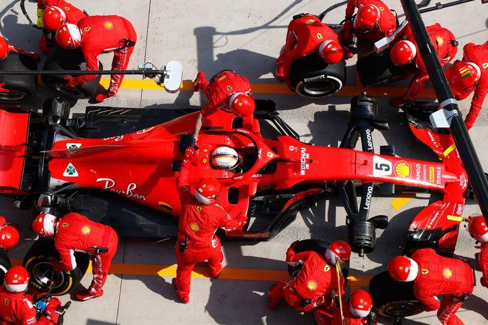 Sebastian Vettel á erfitt verk fyrir höndum í Austurríki