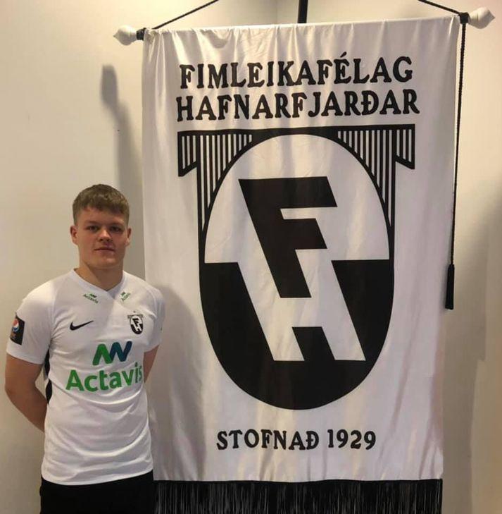 Oliver Heiðarsson er genginn í raðir FH.
