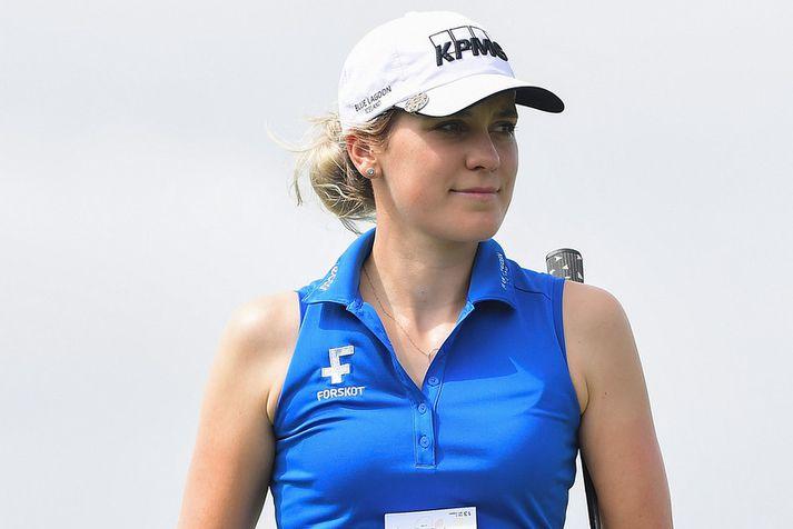 Ólafía Þórunn Kristinsdóttir fær líka að spila eitthvað áfram á LPGA-mótaröðinni.