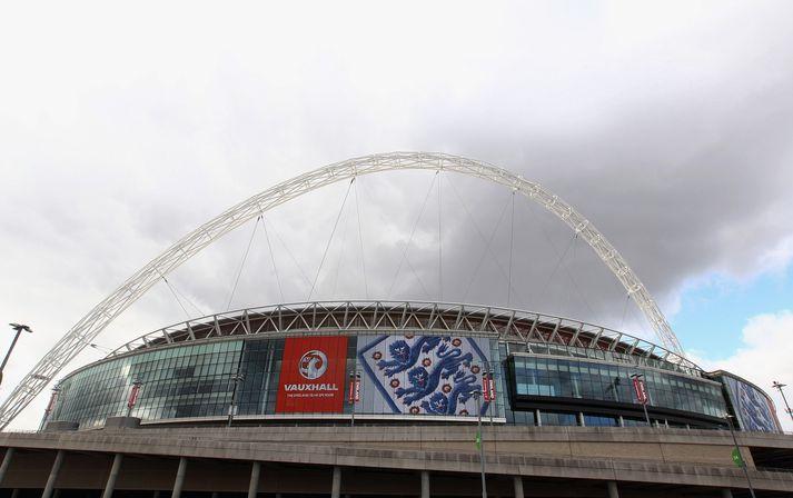 Wembley er heimavöllur enska landsliðsins og jafnframt höfuðstöðvar enska knattspyrnusambandsins