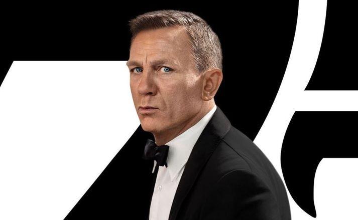 Leikarinn Daniel Craig fer með hlutverk James Bond í sjötta og síðasta sinn.
