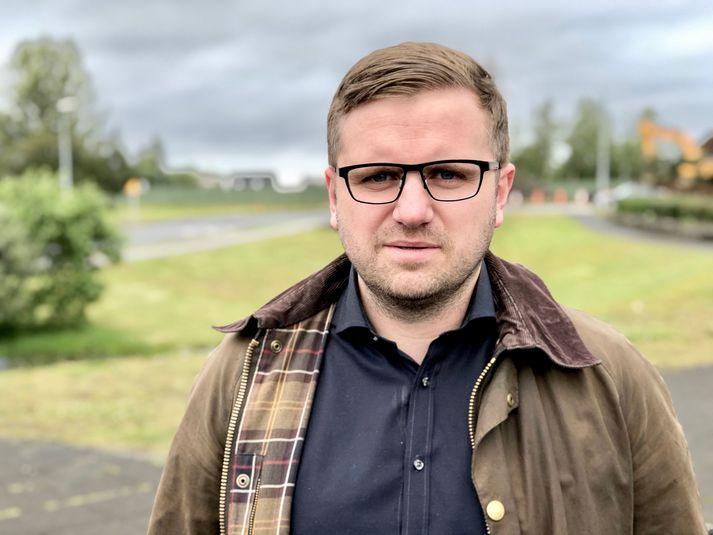 Páll Kristjánsson er formaður knattspyrnudeildar KR.