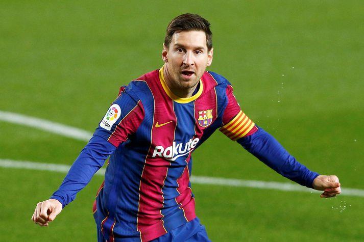 Lionel Messi var frábær í liði Barcelona í kvöld.