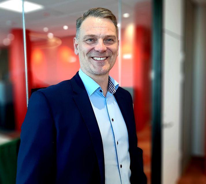 Kjartan Briem, framkvæmdastjóri tækni og innviða hjá Vodafone á Íslandi.