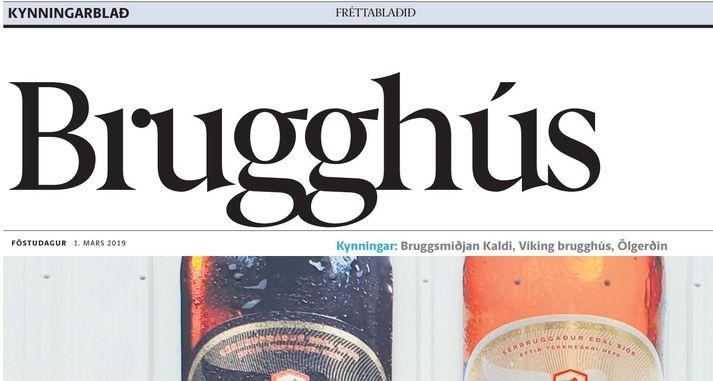Torgi ehf. útgefanda Fréttablaðsins hefur verið gert að greiða milljón í stjórnvaldssekt vegna Brugghúss, kynningarrits sem fylgdi með Fréttablaðinu 1. mars síðastliðinn.