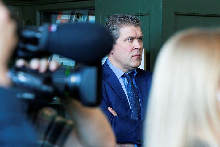 Bjarni Benediktsson, fjármálaráðherra, á kynningarfundi ríkisstjórnarinnar um aðgerðapakka þrjú vegna Covid-19