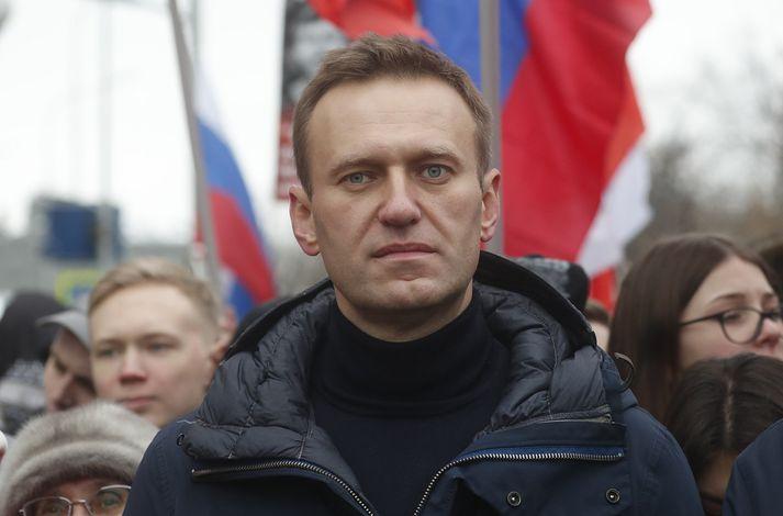 Navalní hefur ítrekað verið handtekinn í Rússlandi, meðal annars fyrir að skipuleggja mótmæli gegn stjórnvöldum.