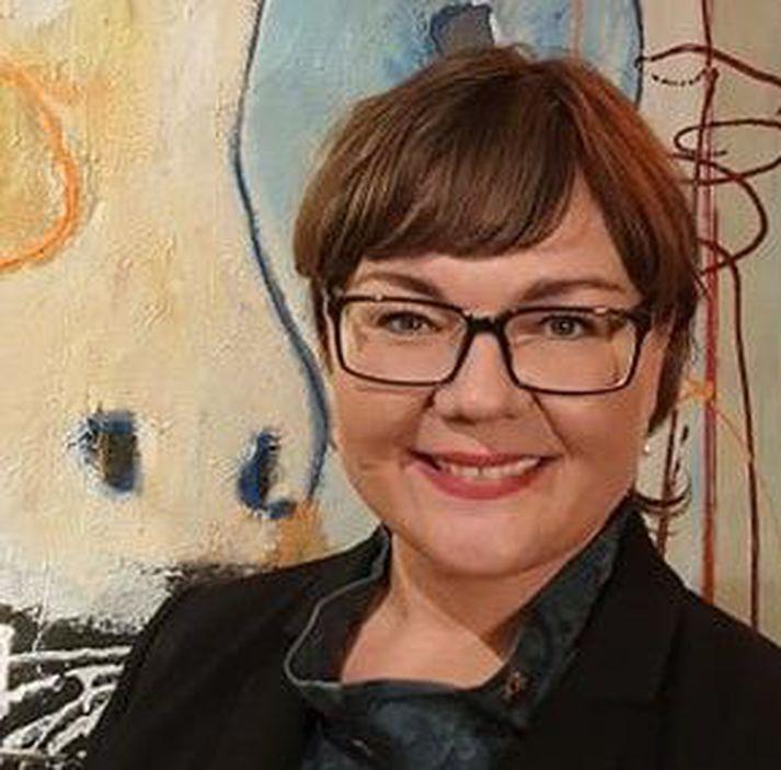 Ellen Calmon er formaður Samfylkingarfélagsins í Reykjavík