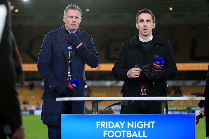 Neville og Carragher saman.