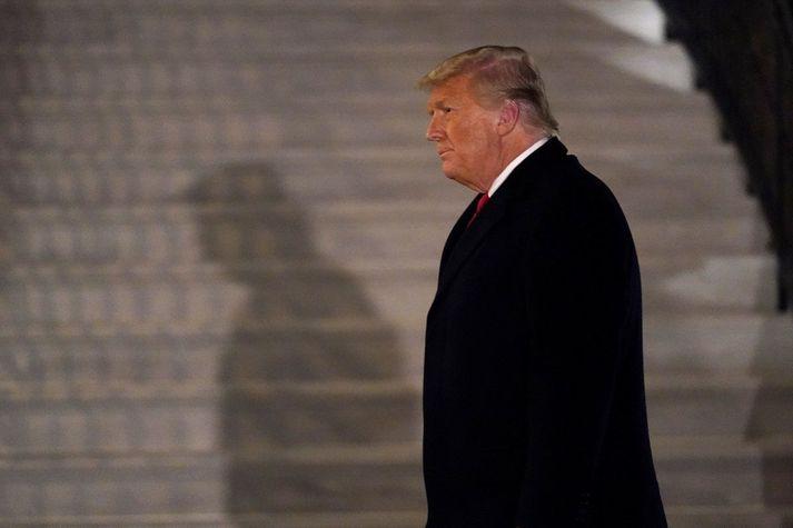 Donald Trump, er fyrsti forseti Bandaríkjanna til að vera tvisvar sinnum ákærður fyrir embættisbrot.