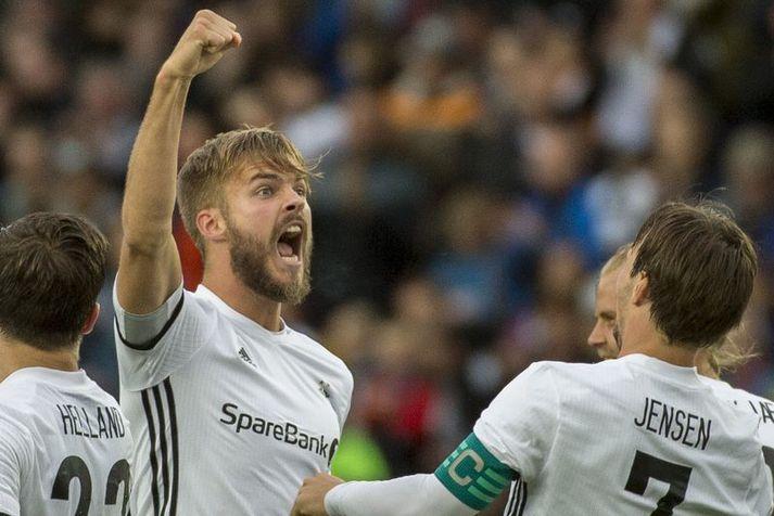 Hólmar Örn Eyjólfsson og félagar í Rosenborg byrja ekki nýtt tímabil fyrr en í maíbyrjun.