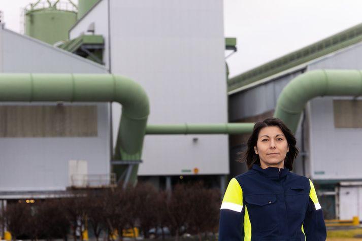 Adriana Karolina Pétursdóttir, leiðtogi starfsmannaþjónustu hjá ISAL, Straumsvík
