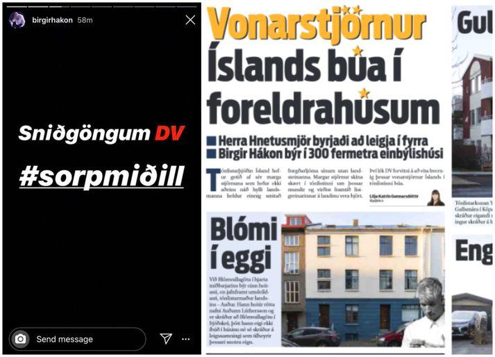 Margir eru ósáttir við umfjöllun DV.