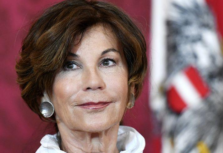 Brigitte Bierlein hefur verið forseti stjórnlagadómstóls Austurríkis frá árinu 2003.