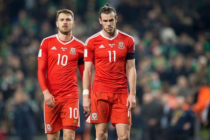 Ramsey og Bale verða væntanlega mikilvægir annað kvöld.