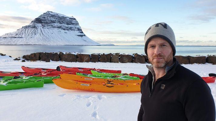 Garðar Hafsteinsson, kajakleiðsögumaður og framkvæmdastjóri Vestur Adventures.