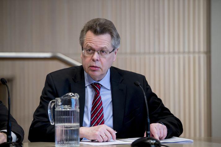 Már Guðmundsson seðlabankastjóri.