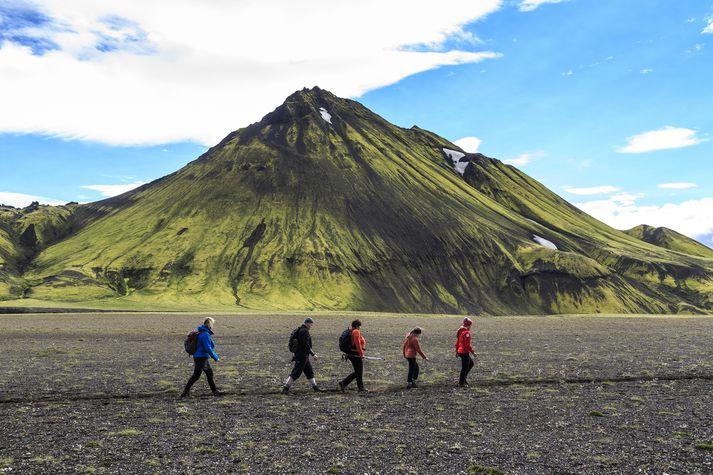 Miðhálendið þekur um 40 prósent landsins.