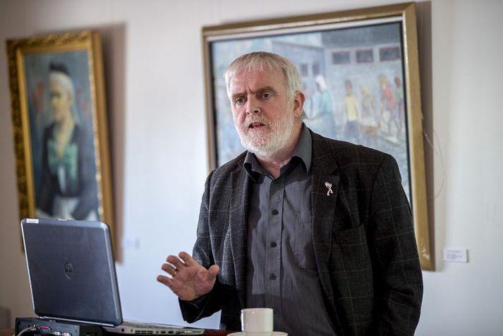 Gylfi Arnbjöronsson, forseti ASÍ.