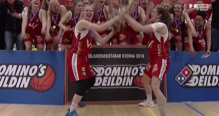 Gunnhildur Gunnarsdóttir segir sigurinn gegn Haukum 2016 í oddaleik um Íslandsmeistaratitilinn sinn besta sigur.