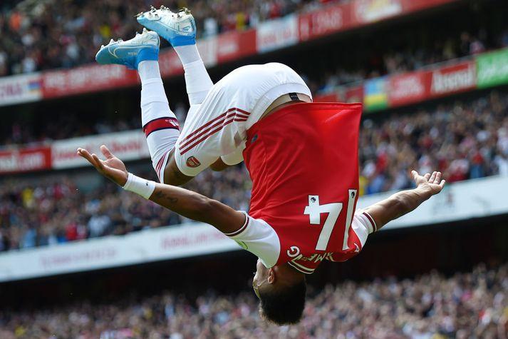 Aubameyang, framherji Arsenal.