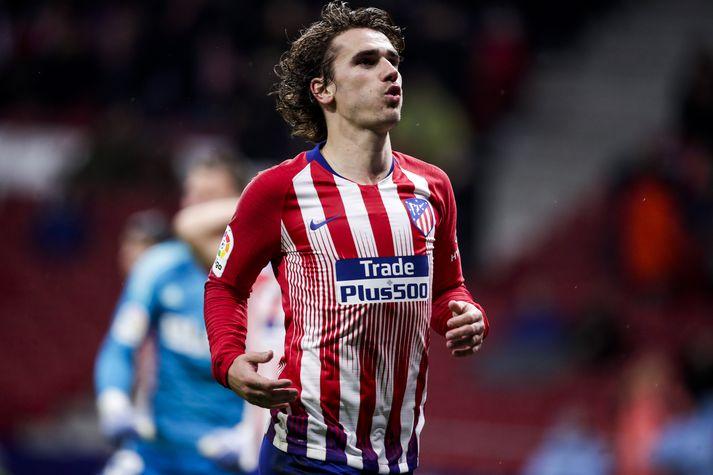 Griezmann skoraði 21 mark fyrir Atlético Madrid á síðasta tímabili.