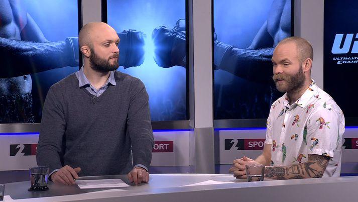 Pétur Marinó og Ásgeir Börkur.