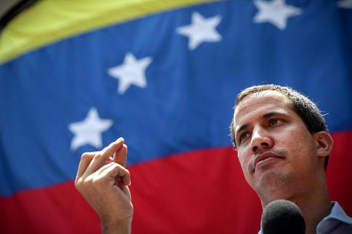 Juan Guaidó, forseti venesúelska þingsins.