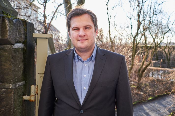 Pawel Bartosek, borgarfulltrúi fyrir Viðreisn.