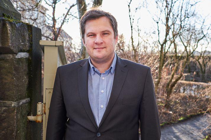 Pawel Bartoszek borgarfulltrúi Viðreisnar.