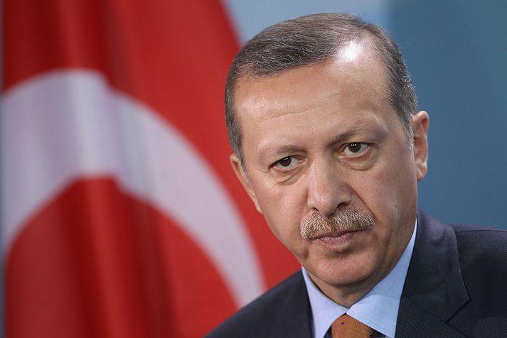 Erdogan Tyrklandsforseti segir að Evrópa þurfi að gæta sín vegna nýrra ógna í Líbíu.