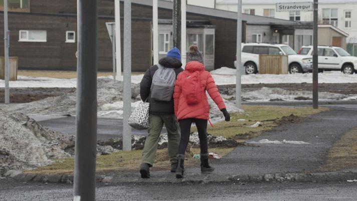 Ferðamönnum í Vík fækkaði stórlega á einungis
