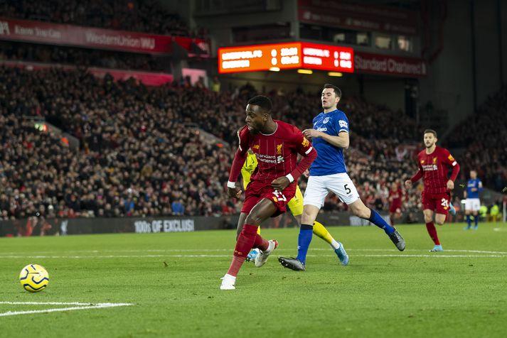 Origi skoraði eins og hann gerir alltaf gegn Everton.