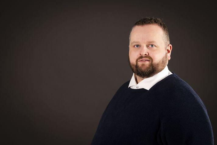 Hafliði Breiðfjörð er framkvæmdastjóri Fótbolta.net. Hann á 95% í miðlinum á móti Magnúsi Má Einarssyni, ritstjóra, sem á 5%. Fótbolti.net var stofnaður í apríl 2002.