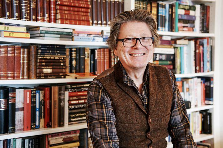 Eiríkur Bergmann, prófessor í stjórnmálafræði.