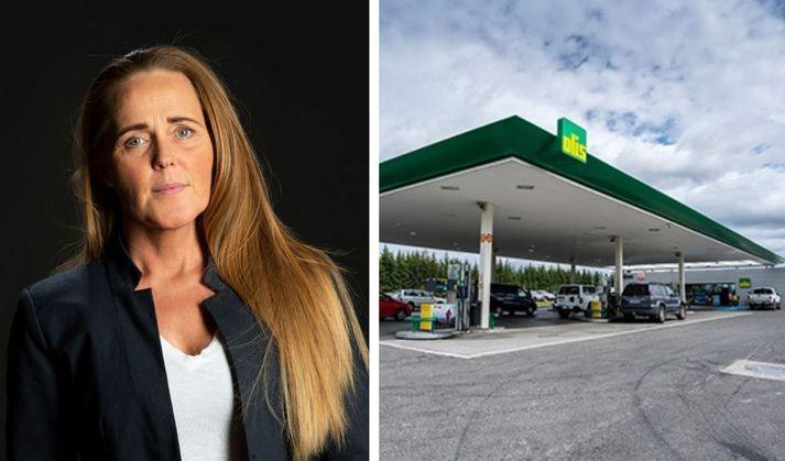 Alma Björk Hafsteinsdóttir er formaður Samtaka áhugafólks um spilafíkn.