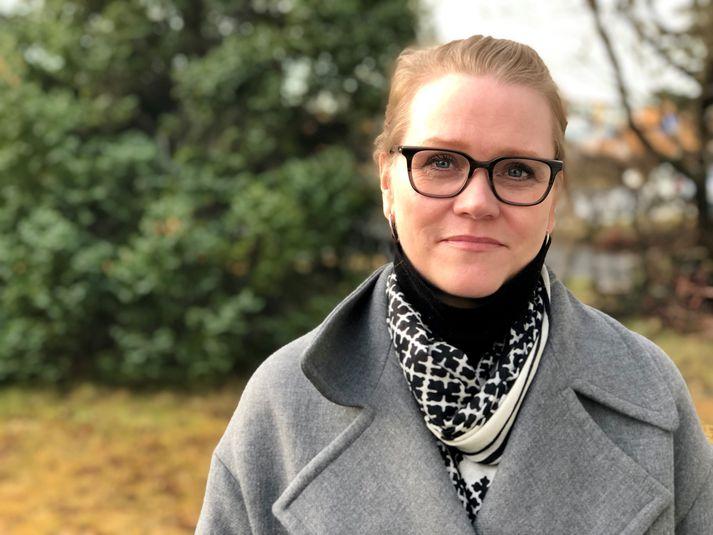 Katrín Júlíusdóttir framkvæmdastjóri Samtaka fjármálafyrirtækja.